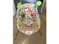 Fisher price vibration baby bouncer