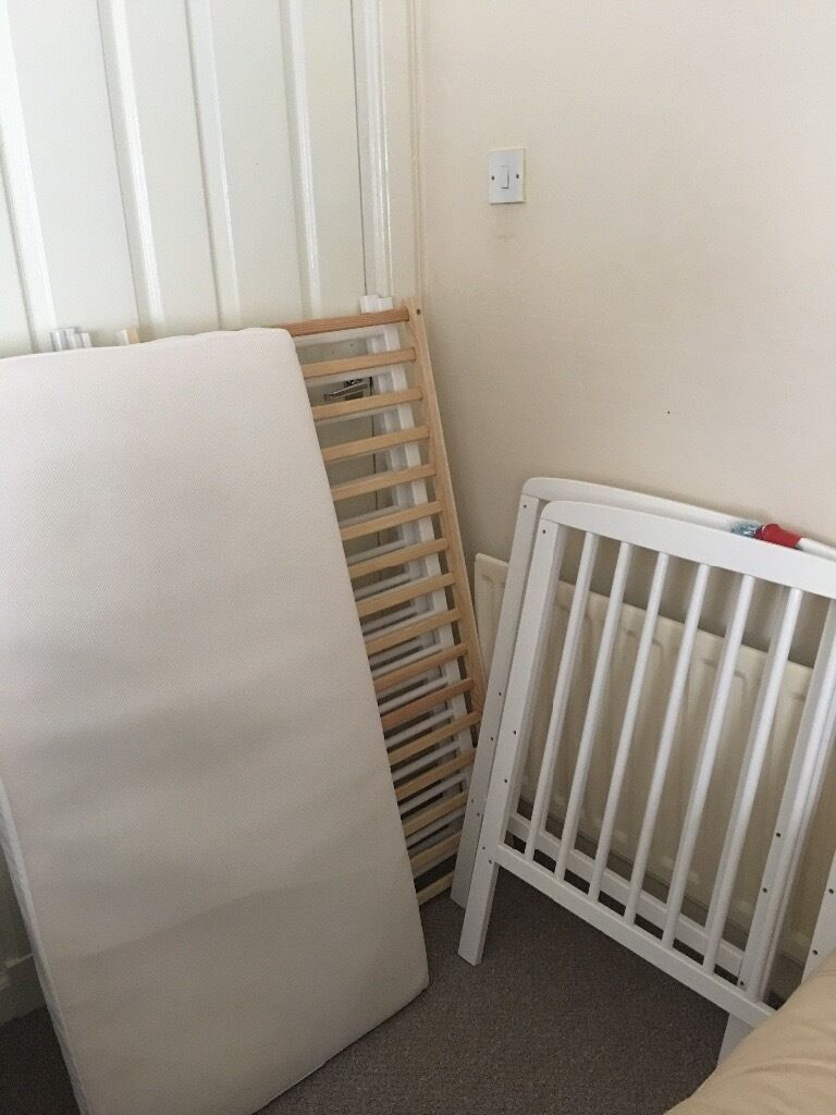 Cot Bed for sale!! Must Go ASAP!!!