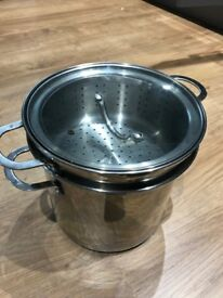 Buckingham Stainless Steel Large Stock Cooking Pot 10Litre