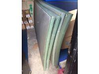4 x Green MMA Mats (Judo BJJ Gymnastics Aerobics Muay Thai) RRP Over £500 of New