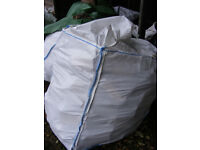 LOGS FOR SALE 2 BULK BAGS Kiln Dried wood burner coal fire Delivered Stacked 25 mile of NN113AW