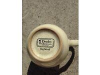 REDUCED PRICE! Denby Daybreak plates saucers cups salt pepper sugar cream pottery