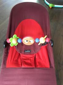 Babybjorn Bouncer with wooden toy bar