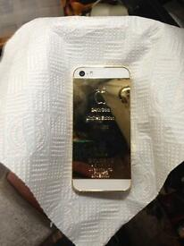 iPhone 24ct gold