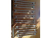 16 kitchen unit chrome door handles