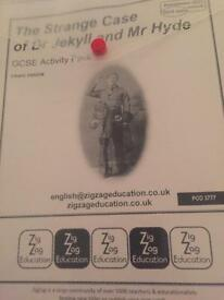 Jeckyll and Hyde - new spec GCSE teaching resources