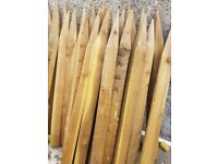 Fenceposts - New - 10 cm square fence posts 150cm long