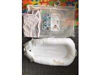 Sleepyhead delux with spare cover & carry case 0-8 months