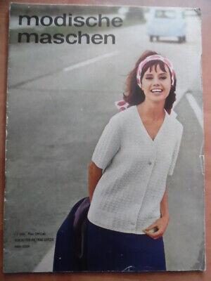 MODISCHE MASCHEN 1 - 1964 Kostüme Westen Röcke Vestover + Schnittmuster Mode DDR