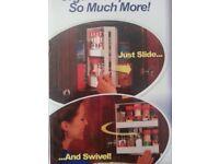 Swivel Spice Rack Space Saving BRAND NEW IN BOX