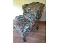 wing back chairs FREE TO COLLECTOR