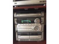 Aiwa Stereo detachable record deck
