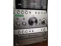 Sony DAB radio CD changer Cassette player