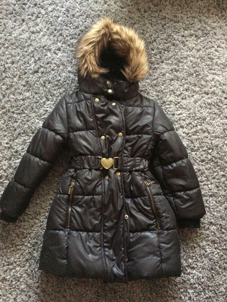 Brand new girls winter jacket (age 7-8)