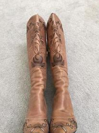 Nine West knee high boots size 7