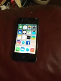 iPhone 4s 8G (cracked but still works perfectly)