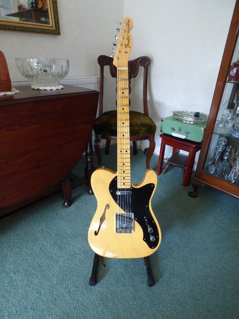 Fender Electric Guitar Gumtree : fender custom shop thinline 68 69 journeyman electric guitar in burnley lancashire gumtree ~ Russianpoet.info Haus und Dekorationen