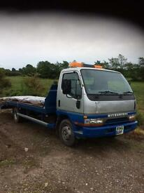 Recovery truck 7.5 ton Mitsubishi canter (may swap or part x ) 3.5 ton recovery