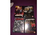 Entourage dvd 3 seasons