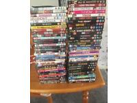 68 mixed DVDs