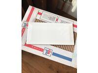 White metro tiles - 2 boxes - half price - collection only