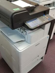 Samsung SCX-8128NA 8128 Monochrome Copier B/W Photocopier Print Copy Machine - Printers Copiers on SALE - BUY or RENT