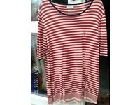 BASLER QUALITY STRIPED TOP. LARGE/EXTRA LARGE 46 ins. SIZE 18/20