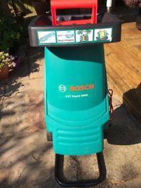 BOSCH Electric Garden Shredder. AXT Rapid 2000