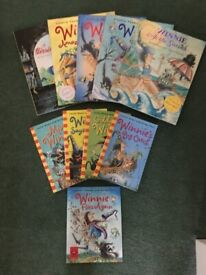 10 x Winnie the witch paperback books (also priced individually)