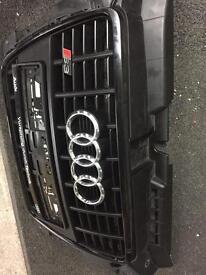 Genuine Audi S3 black edition grill OEM