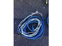 Speaker speakon cables 8 pole x 6