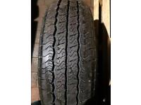 Tyre 215 75 r 16 van tyre only fitted for one day