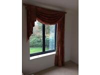 Curtain, with curtain rail