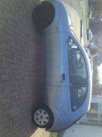 Blue Ford KA