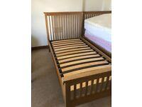 EVA Oak Single Bed Frame