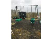 TP Triple Swing Set with 2 extra swing seats.
