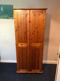 Pine Wardrobe - very good condition