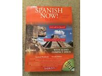 Spanish Now Level 1 7th Edition Texbook with 4 Audio CDs by Barron's