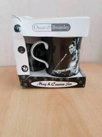 Elvis presley mug & coaster gift set