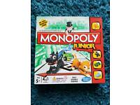 Monopoly Junior board game like new
