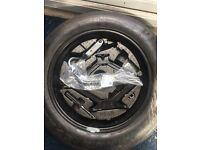 """Vauxhall meriva 2010 onwards complete 16"""" spare wheel kit"""