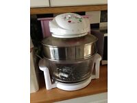 Halogen oven, lots of extras, no longer used