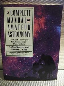 A COMPLETE MANUAL OF AMATEUR ASTRONOMY