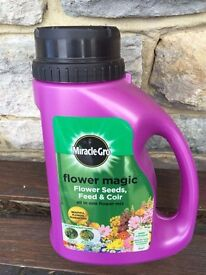 Miracle Gro Flower magic NEW