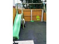 Kids swings and slide £75