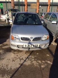 Nissan micra 2002 excellent condition
