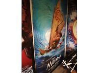 Giant original movie posters.