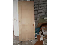 8 x Old doors ALL mainly 4 panel - FREE TO BE COLLECTED