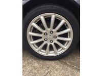 Jaguar x type alloys looking to swap