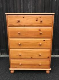 Pine Chest ( Can Deliver )